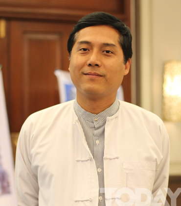 ဦးၿဖိဳးေ၀ရာဇာ  Joint Secretary General Myanmar Tourism Federation