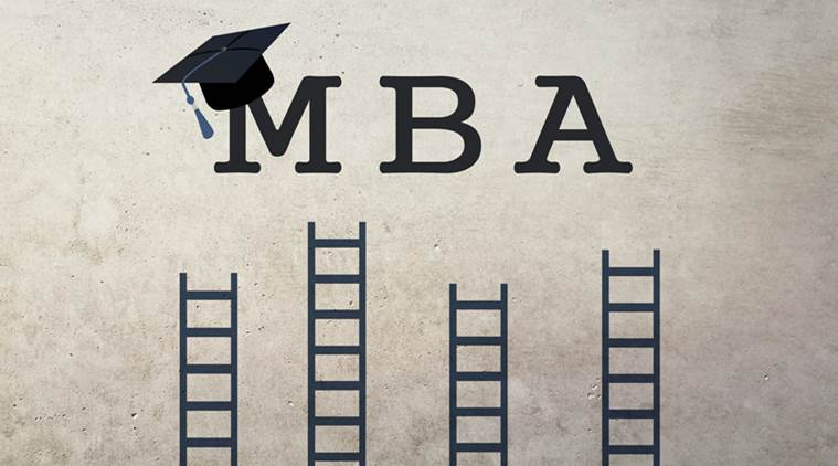 Graduation hat and ladders leading to success on grunge background. Education concept